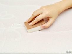 Comment nettoyer un matelas avec du pipi